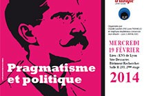 Conference: Pragmatisme et politique (French)