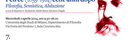 Workshop: Pragmatismo, semiotica e filosofia (Italian)